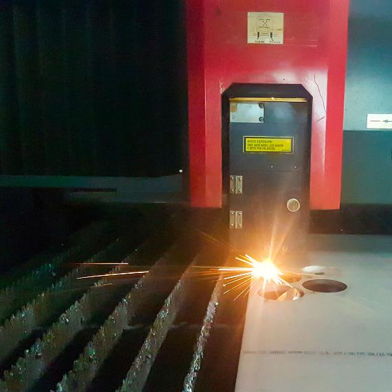 laserowe cięcie blach